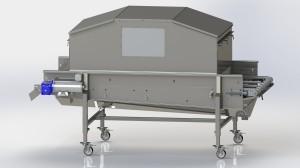 Food Safety Conveyor CSAN3607 with Hood