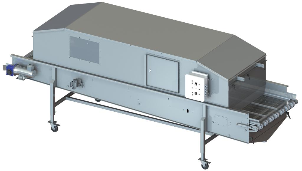 Food Safety Conveyor CSAN3612 with Hood