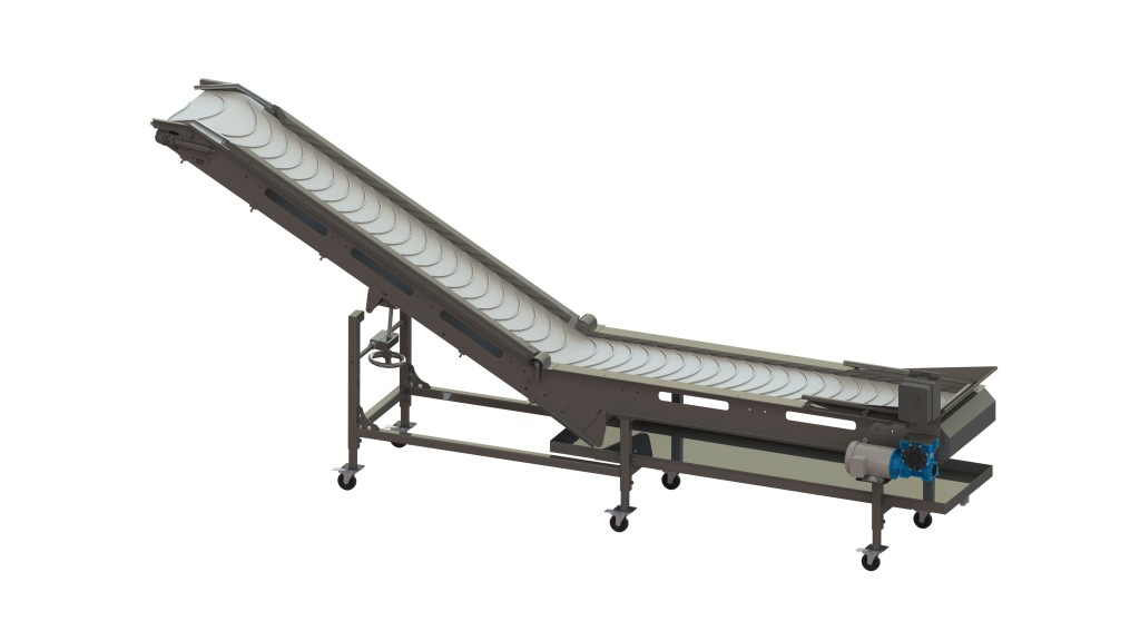 Super-Z Conveyor With Belt